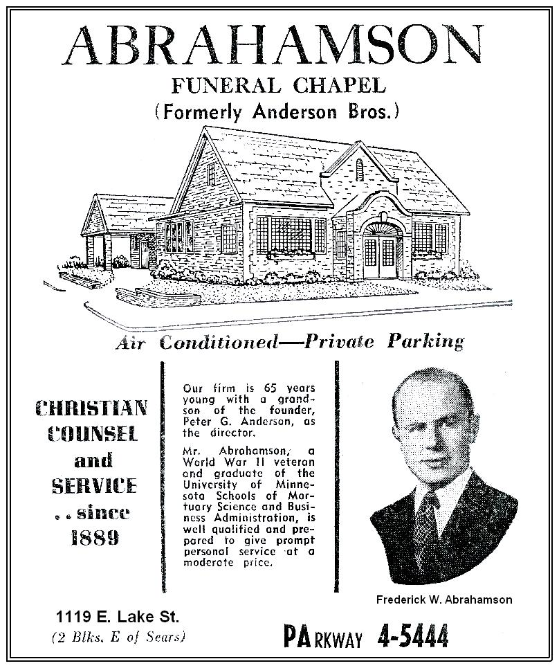 1953 Fred Ad